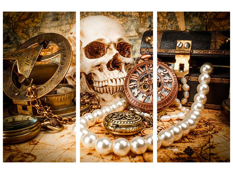 3 Piece Acrylic Print Treasure Hunt