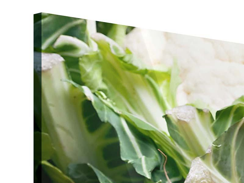 4 Piece Acrylic Print Vegetables