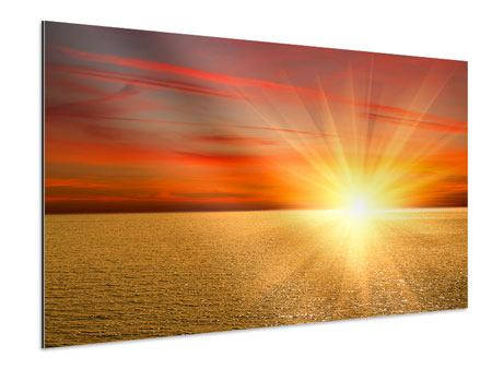 Aluminium Print The Sunset
