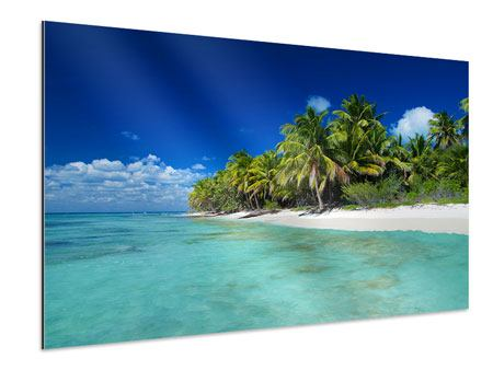 Aluminium Print The Dream Island