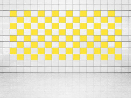 Tile Decor Primerose Yellow (A707) Set of 20