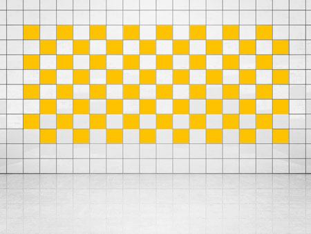 Tile Decor Sun Yellow (A706-01) Set of 20