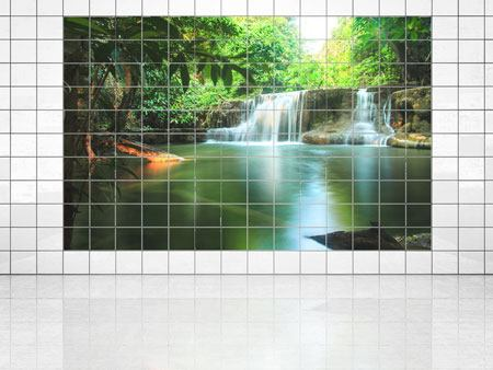 Tile Print Element Water