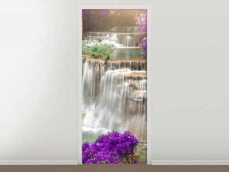 Door Mural Photowallpaper Garden Eden