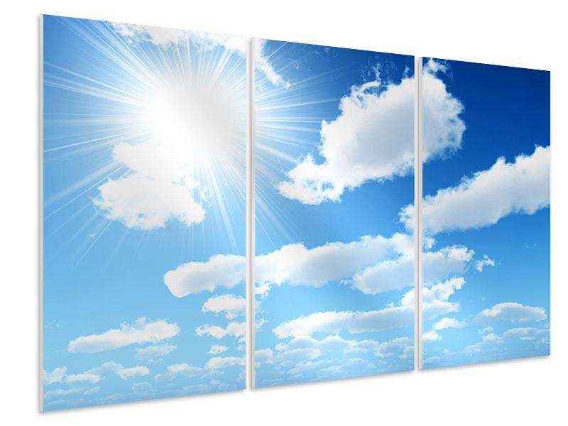 3 Piece Forex Print In The Sky