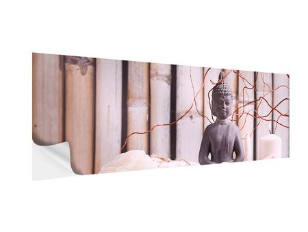 Panoramic Self-Adhesive Poster Spa & Buddha