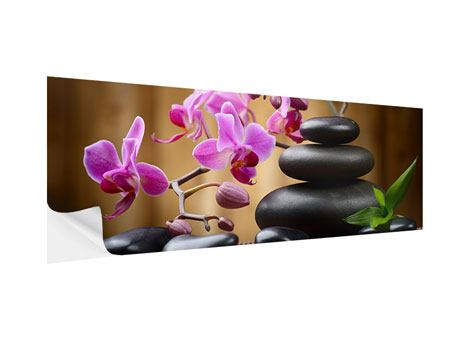 Panoramic Self-Adhesive Poster Wellness Stones