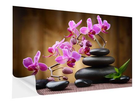 Self-Adhesive Poster Wellness Stones