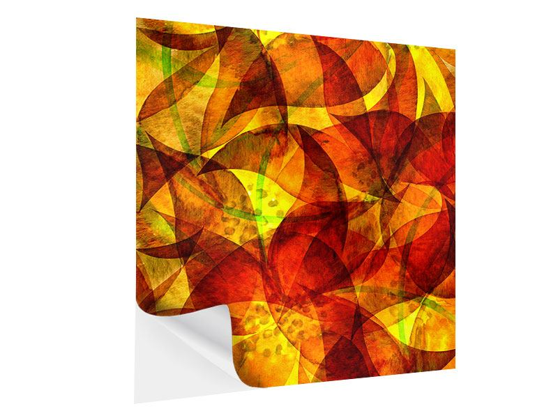 Self-Adhesive Poster Painting Abstract