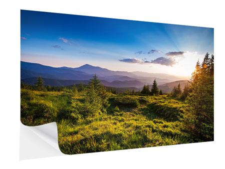 Self-Adhesive Poster Peaceful Landscape