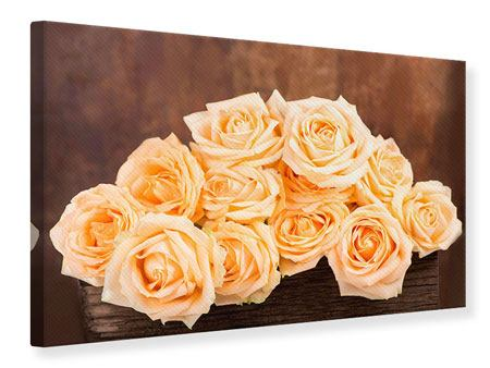Canvas Print Rose Time