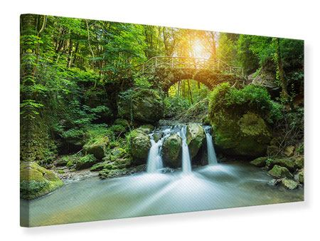 Canvas Print Water Reflection