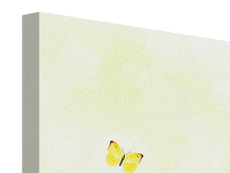 Canvas Print Funny Butterflies
