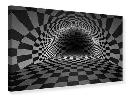 Canvas Print Abstract Chessboard