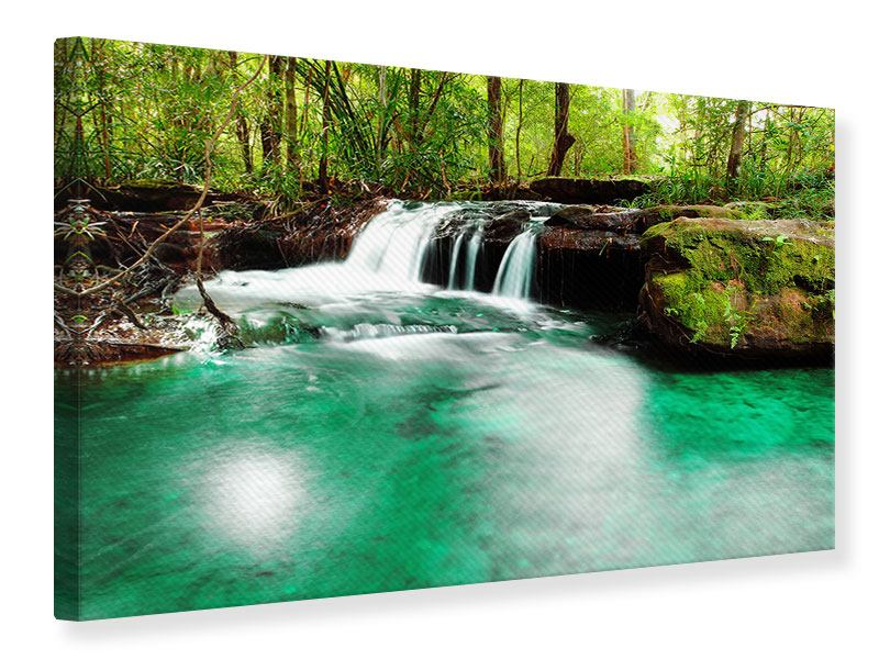 Canvas Print The River At Waterfall