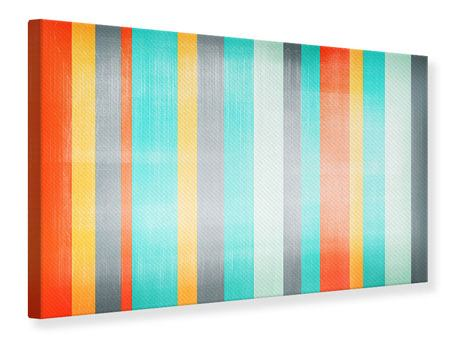 Canvas Print Grunge Stripes