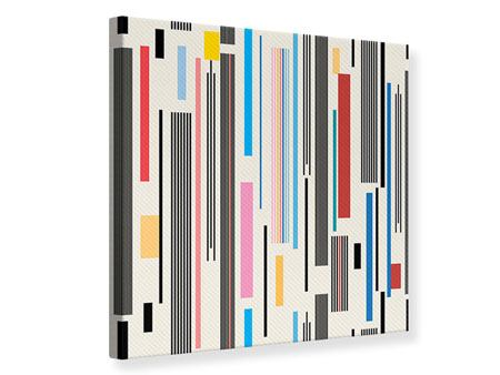 Canvas Print Graphic Stripes