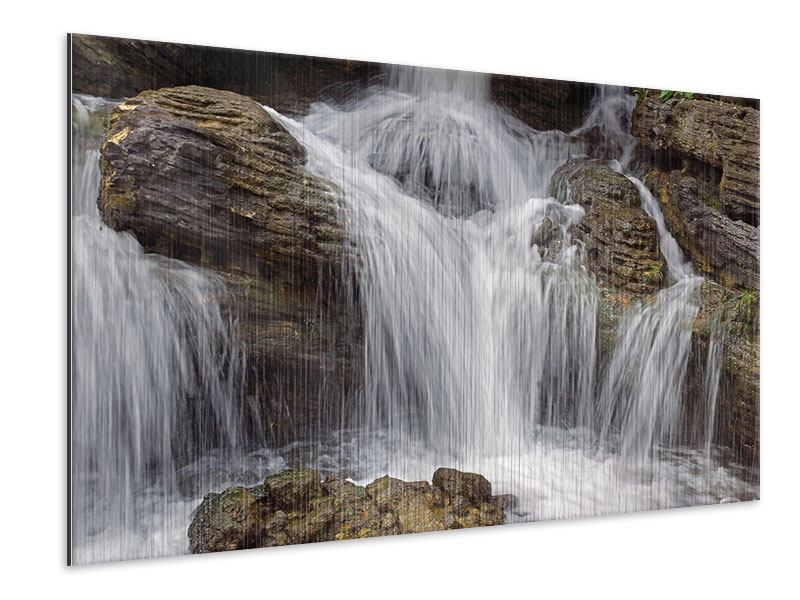 Metallic Print Waterfall XXL