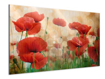Metallic Print The Poppy