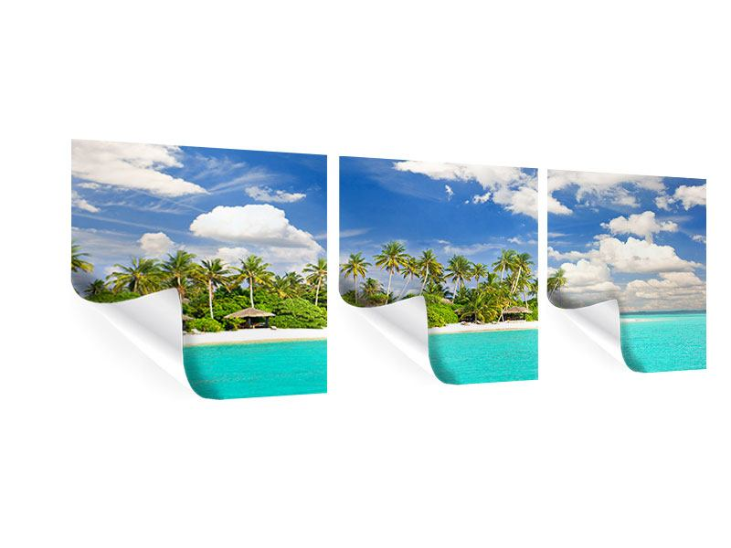Panoramic 3 Piece Poster My Island