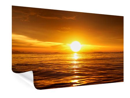 Poster Glowing Sunset On The Water