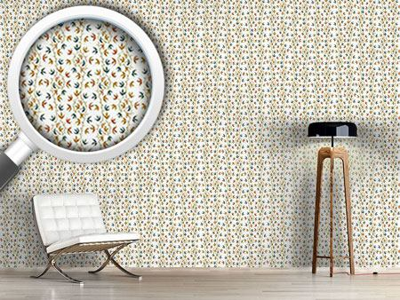 Design Wallpaper Ivy Tendrillars White