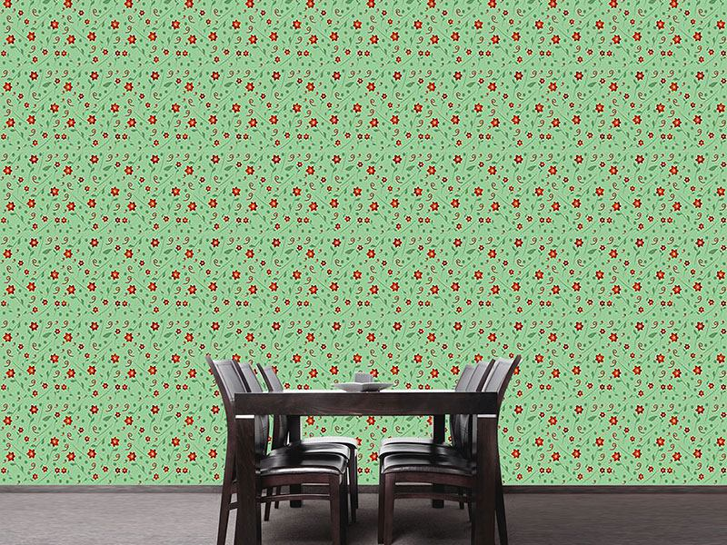 Design Wallpaper Anas Little Flower Garden