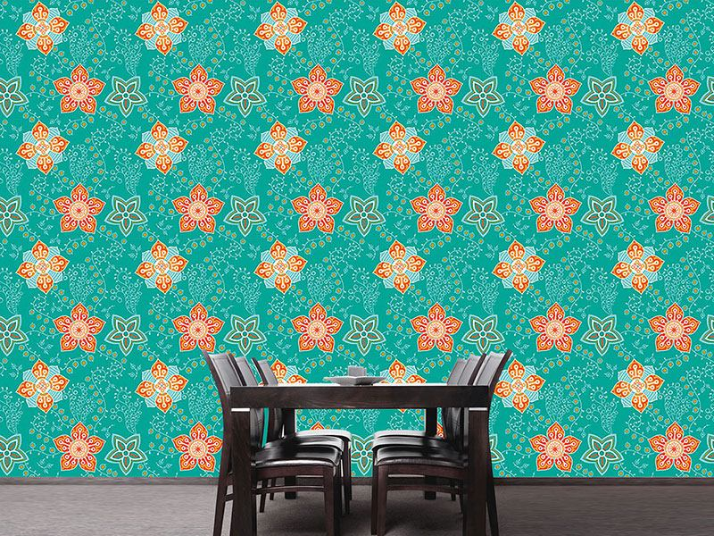 Design Wallpaper Floral Tribute Saint Petersburg