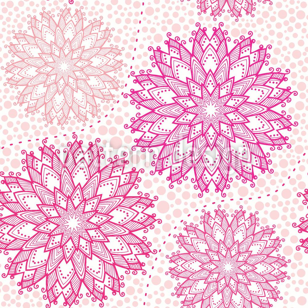 Design Wallpaper Christmas Stars On Dots