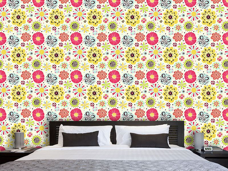 Papier peint design Summer Splash Floral