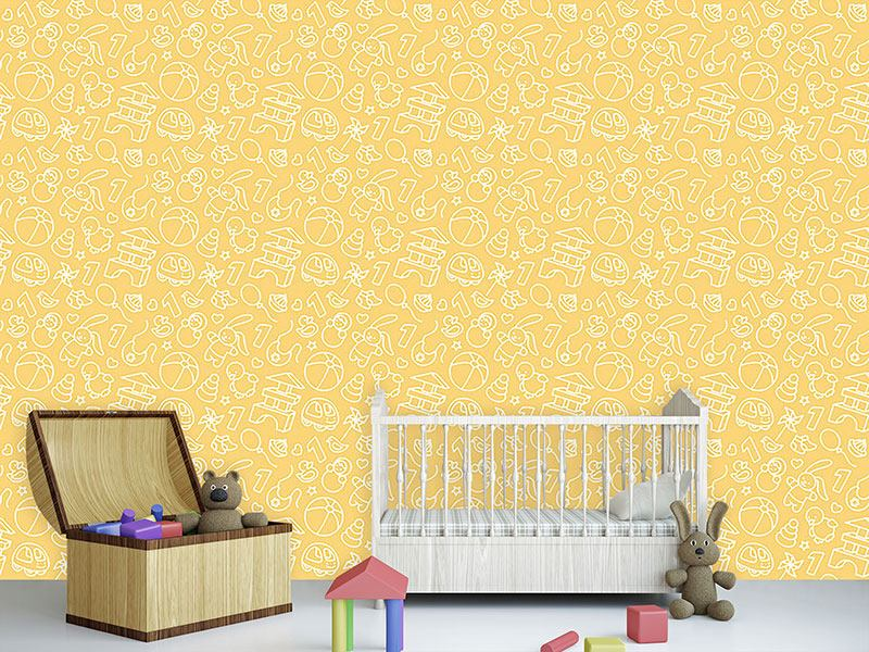 Carta da parati Toddler Toys