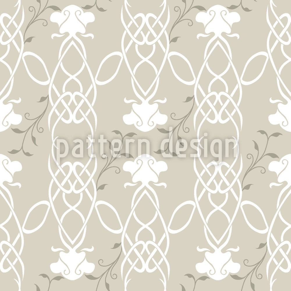 Design Wallpaper Entwined Roses