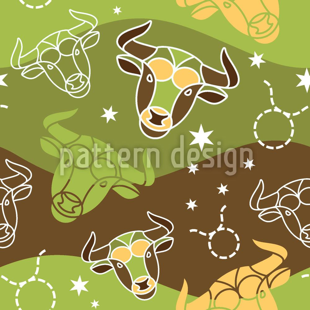 Papier peint design In Taurus