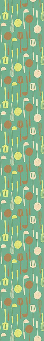 Design Wallpaper Kitchen Utensils
