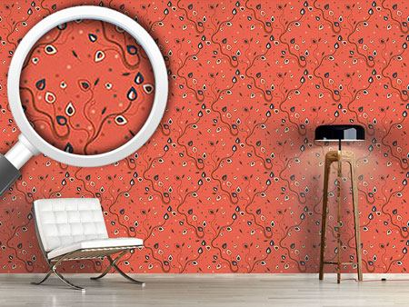 Design Wallpaper Ethno Branches