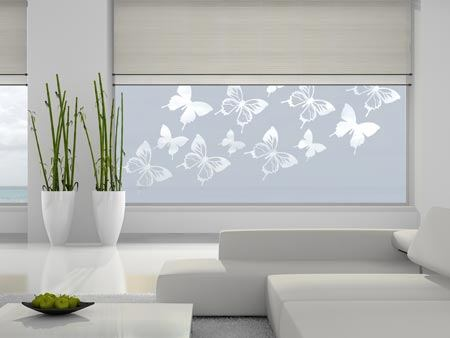 Window Foil 12 butterflies