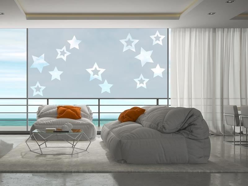 Window Foil star