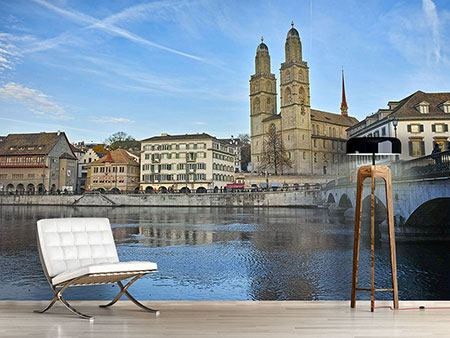Photo Wallpaper The Old Town of Zurich