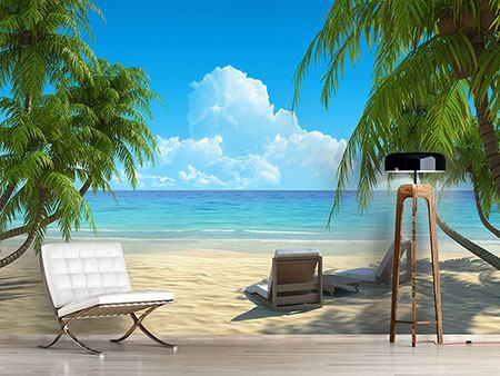 Photo Wallpaper Beach Paradise